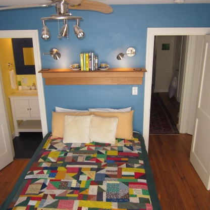 Blue Queen Bedroom